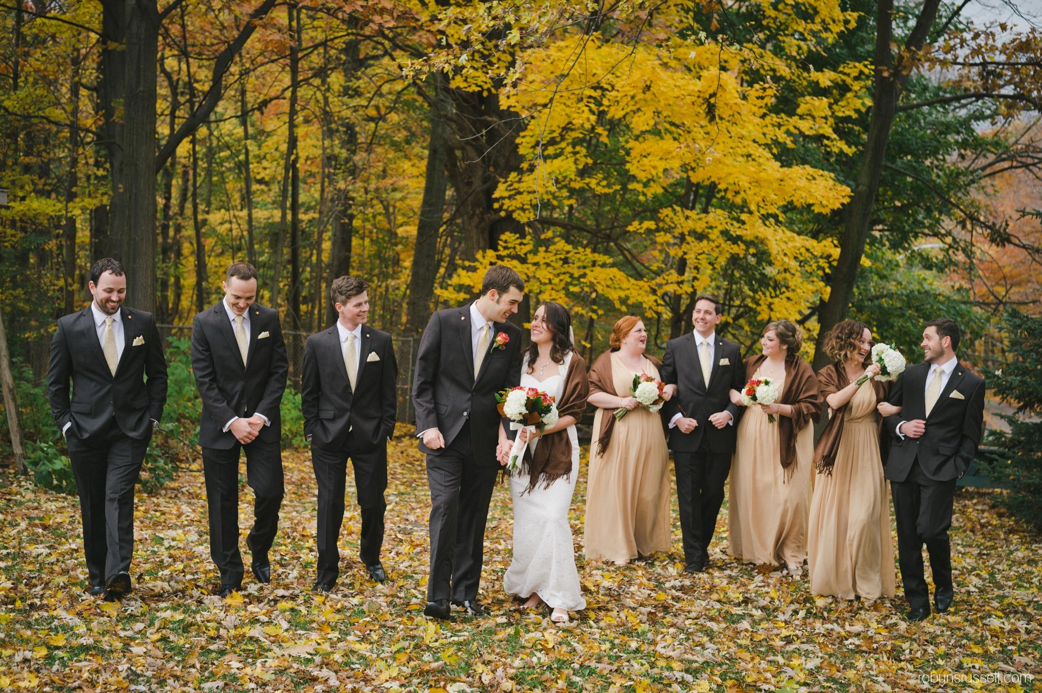 31-bridal-party-bradley-house-walking-fall-wedding.jpg