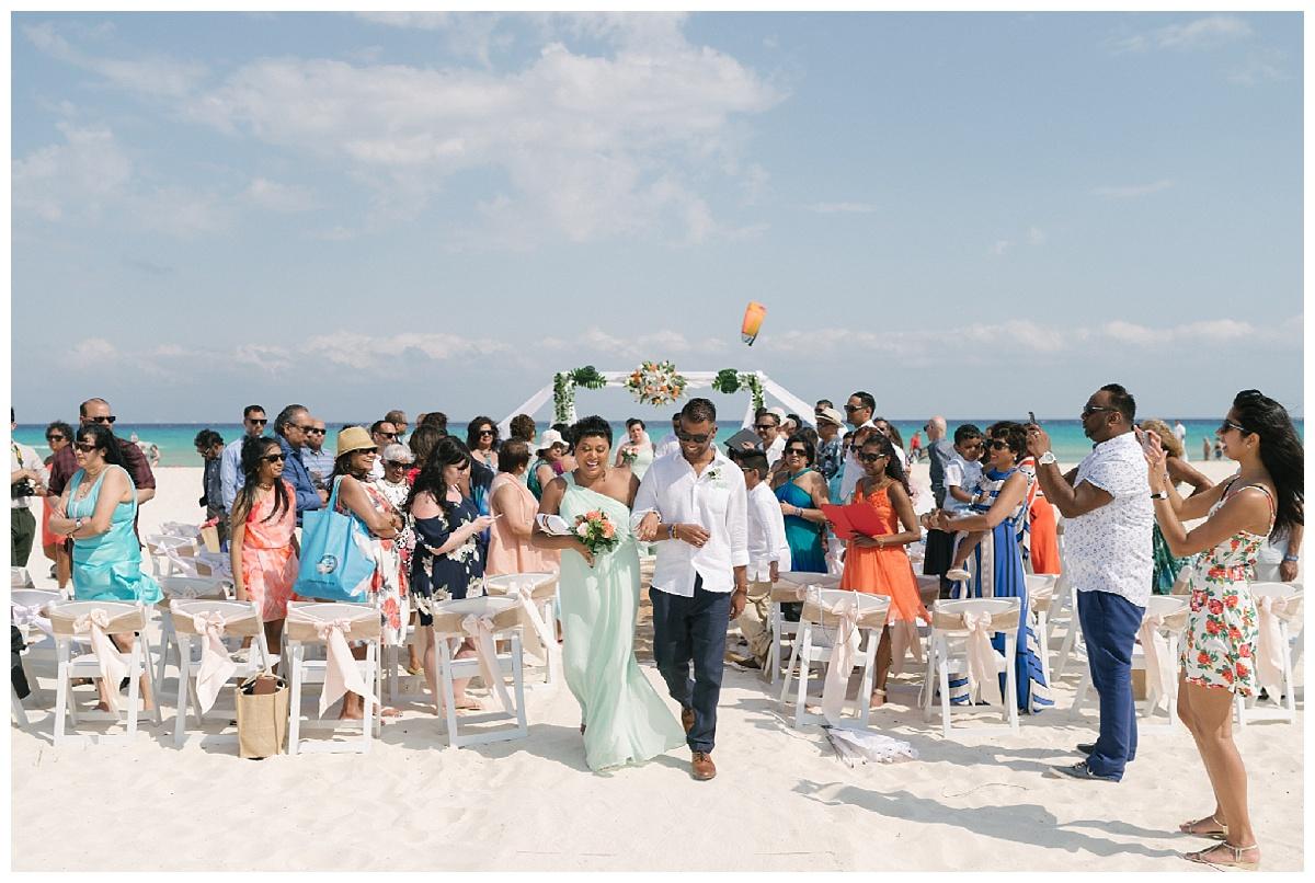 Sandos Playacar Beach Experience Resort Wedding